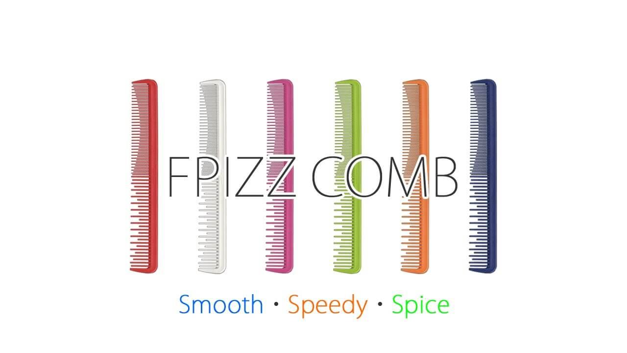 PFIZZ COMB, il nuovo pettine professionale delicato sui capelli